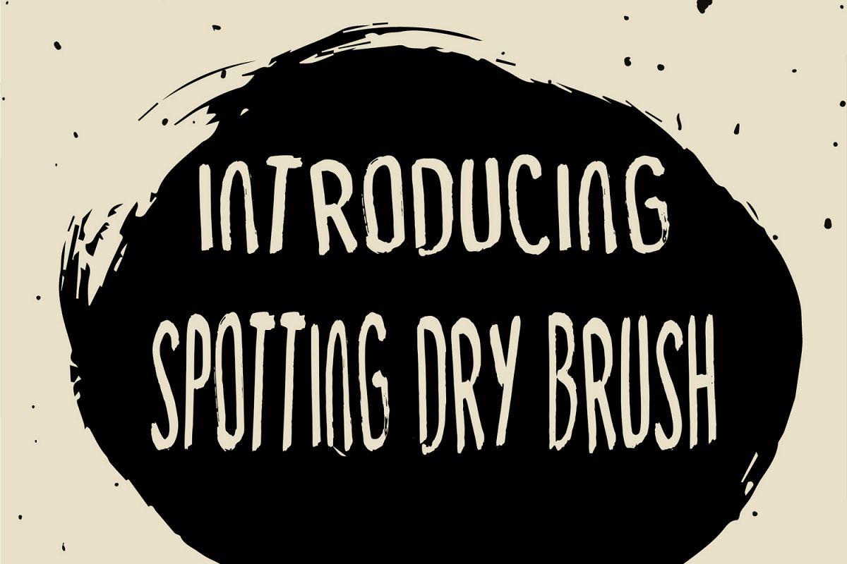 Spotting Dry Brush example image 1