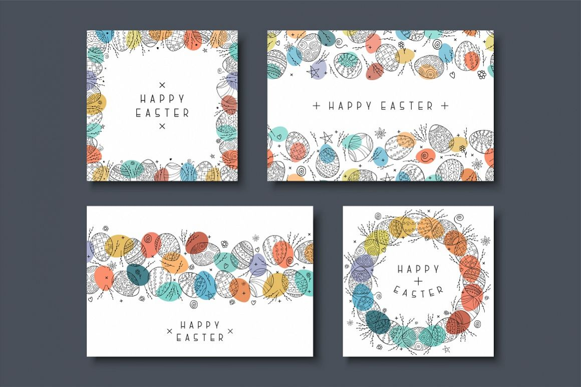 Collecton of happy easter cards example image 1