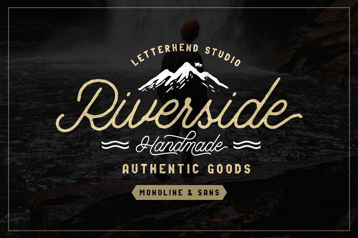 Riverside Font Duo example image 1