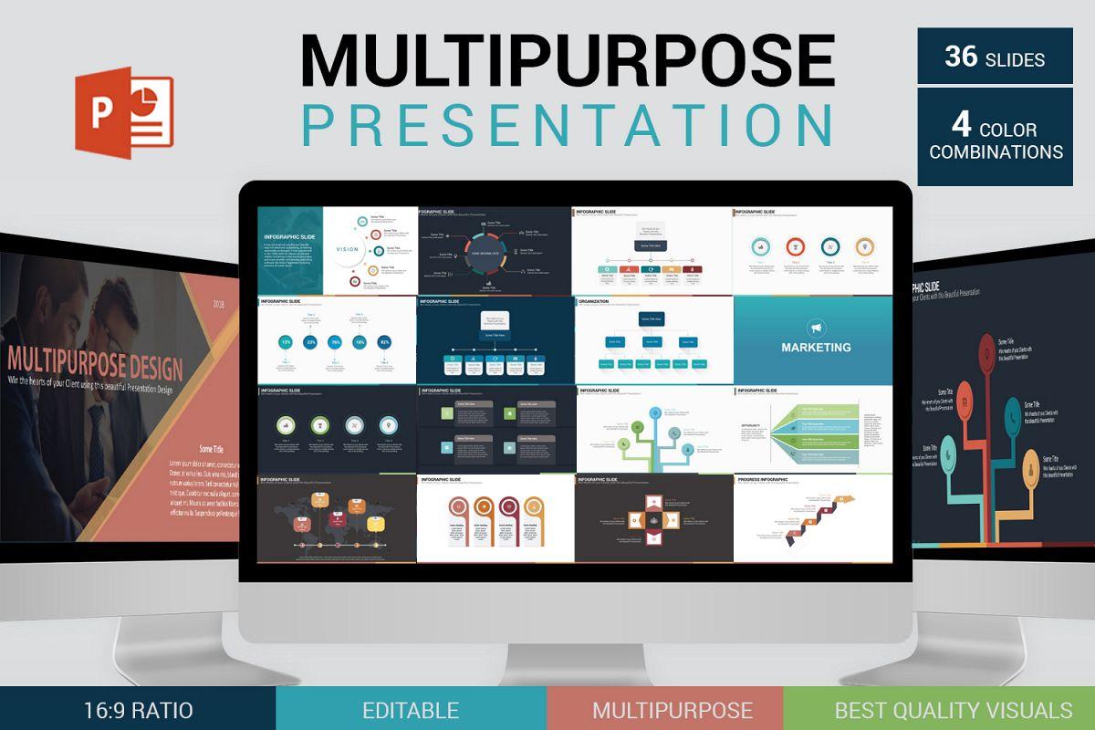 Multipurpose PowerPoint Presentation Template example image 1