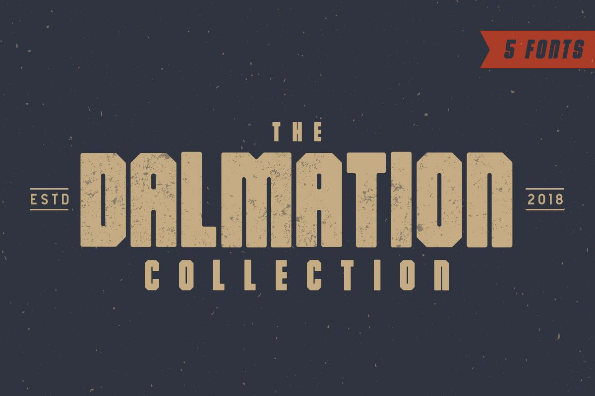 The Dalmation - Font Family example image 1