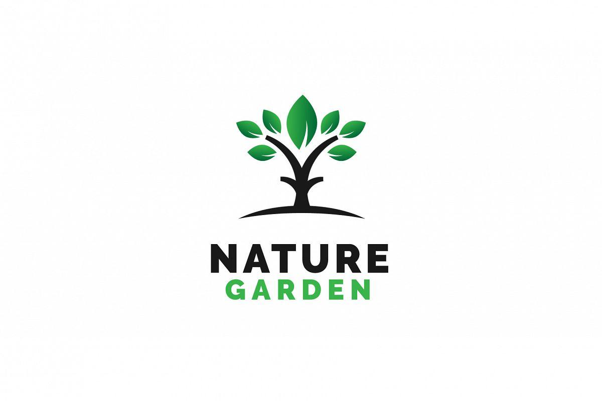 Nature Garden Logo Vol.02 example image 1