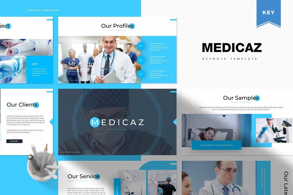 Medicaz | Powerpoint, Keynote, GoogleSlides Template example image 1
