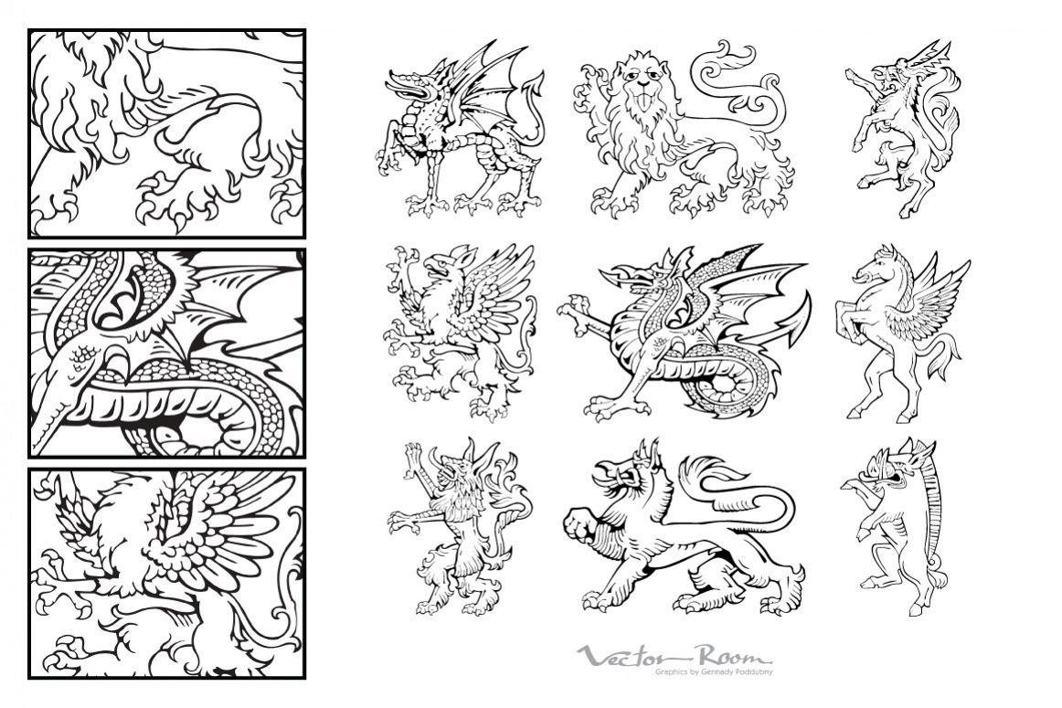 Heraldic Monsters Vol. III example image 1