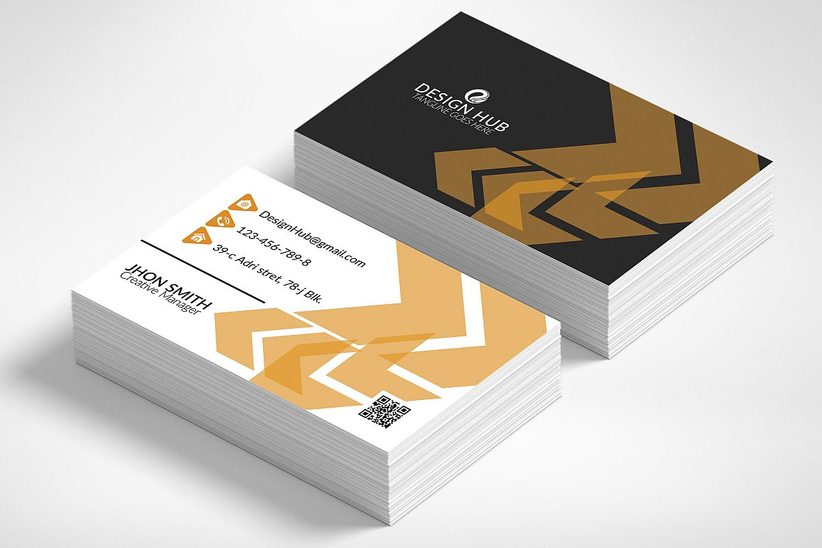 Abstract Business Card example image 1