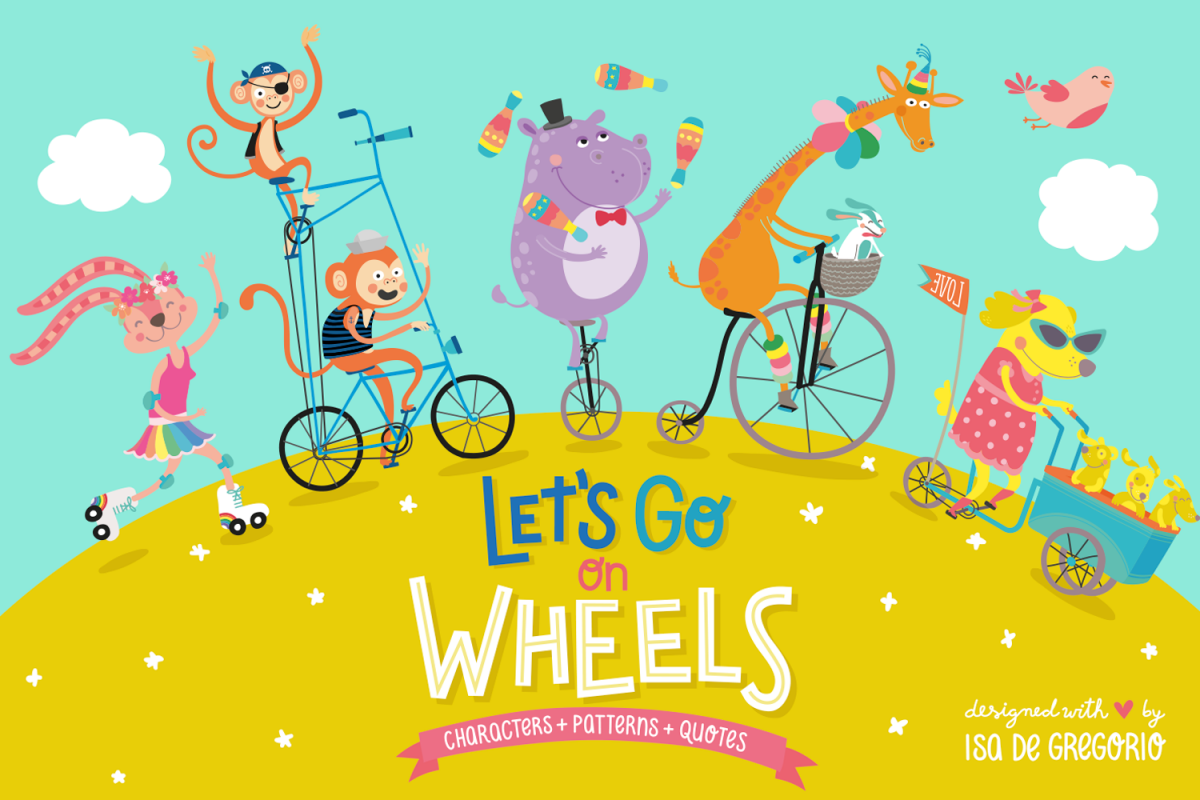 Let's go on wheels example image 1