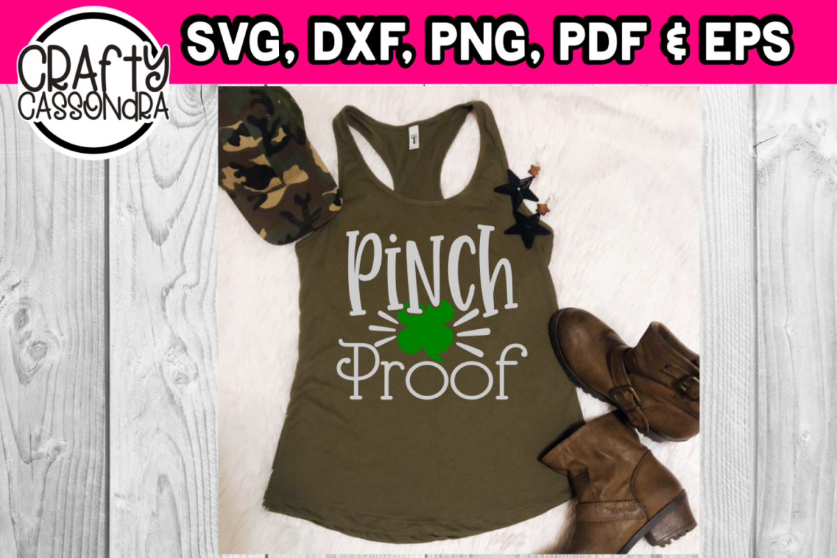 St. Patricks day Pinch Proof design example image 1