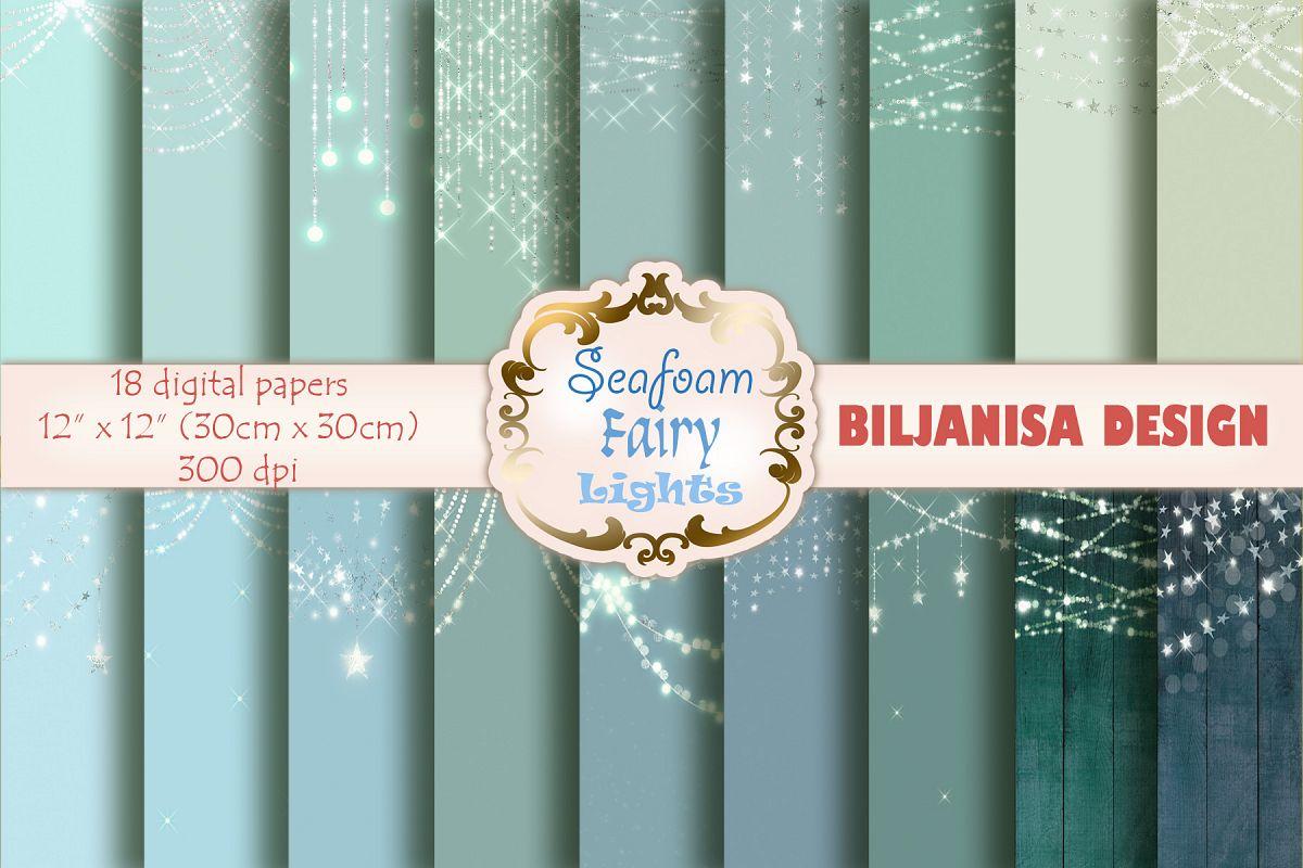 Seafoam Fairy Lights example image 1
