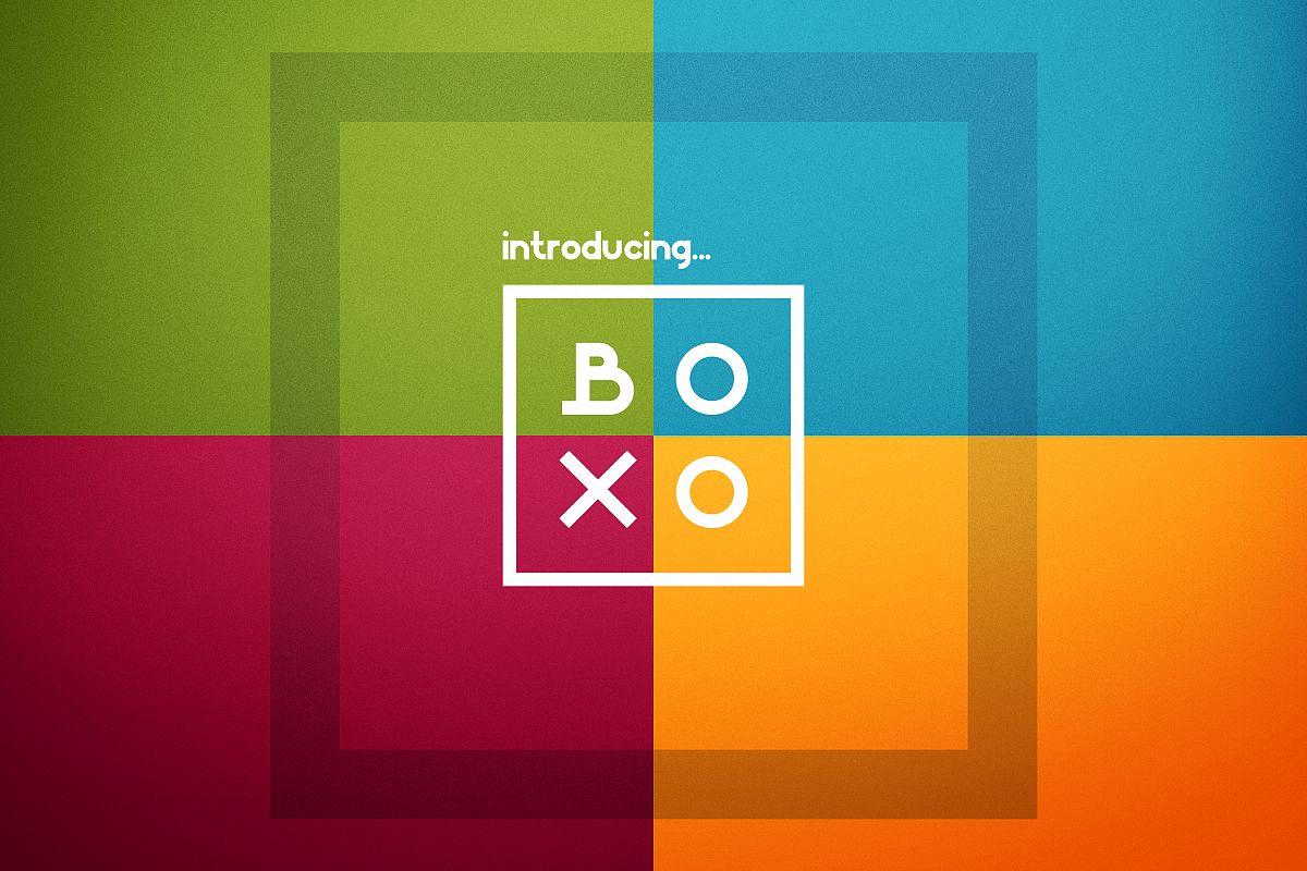 Boxo Font example image 1