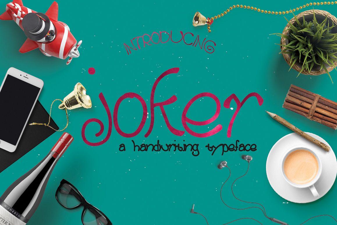 Joker Typeface example image 1