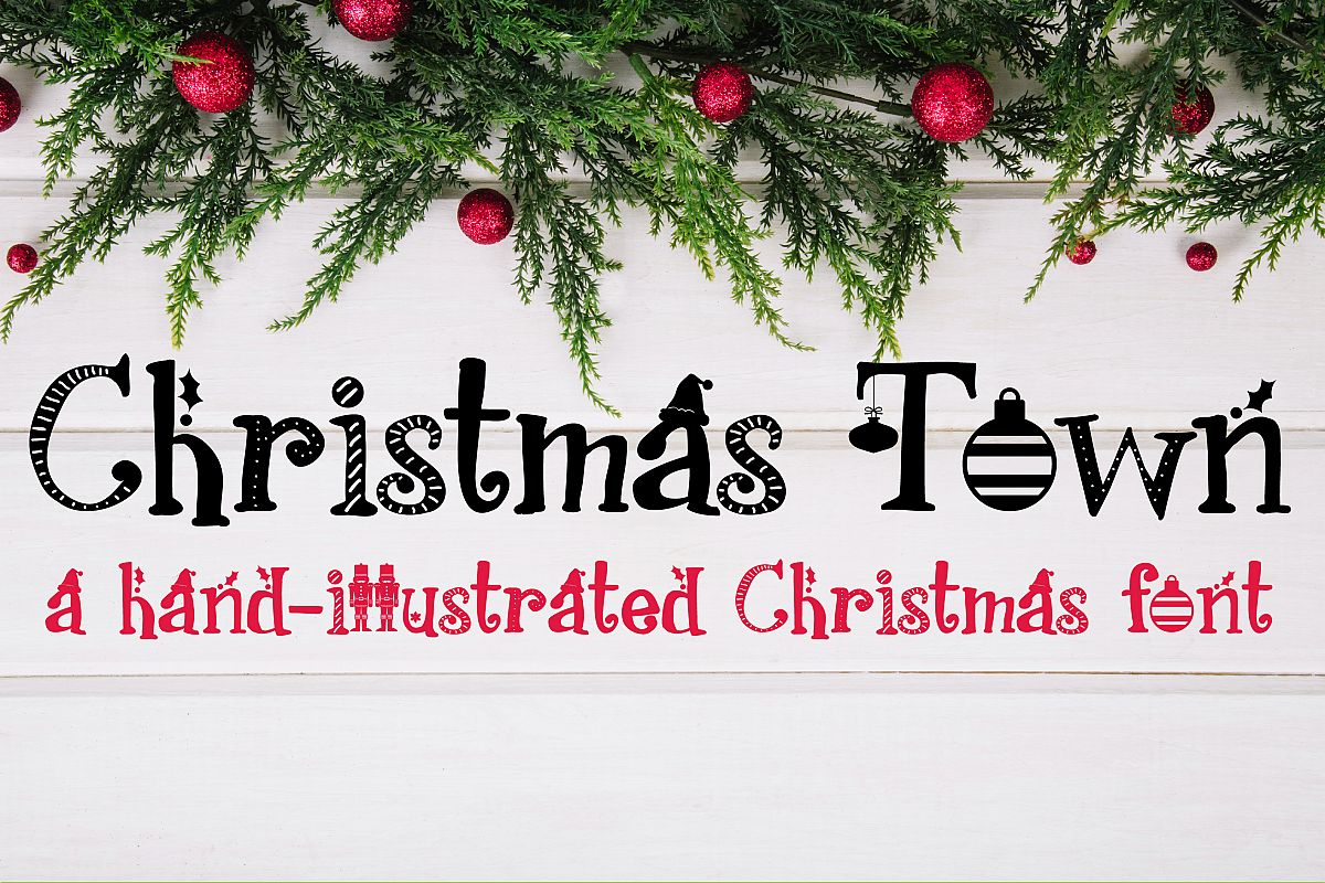 PN Christmas Town example image 1