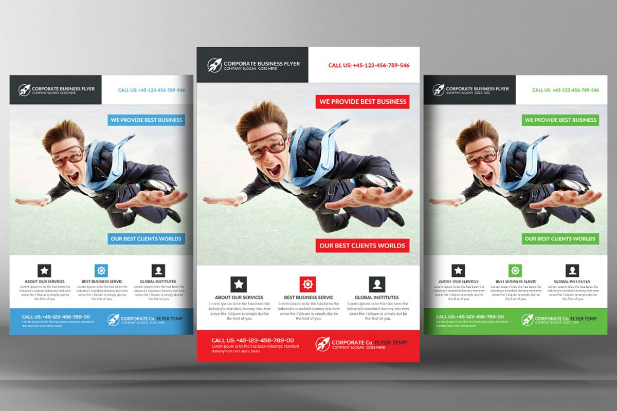 Super Business Flyer Template example image 1