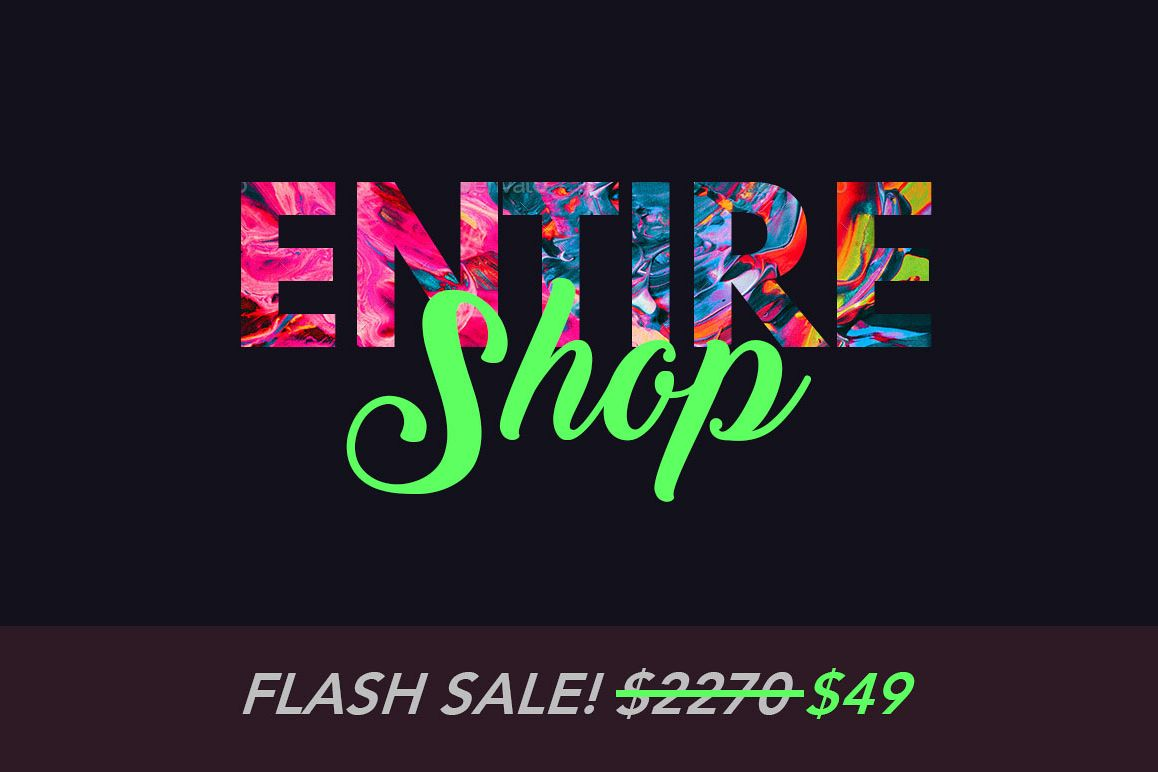 Entire Shop Bundle - Photoshop & Lightroom Add-Ons example image 1