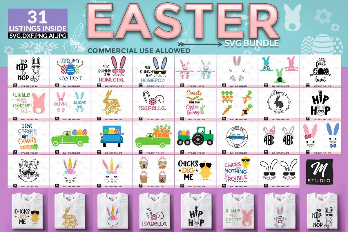 Easter Svg Bundle. example image 1