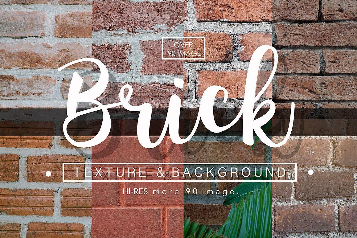 90 Brick texture background  example image 1