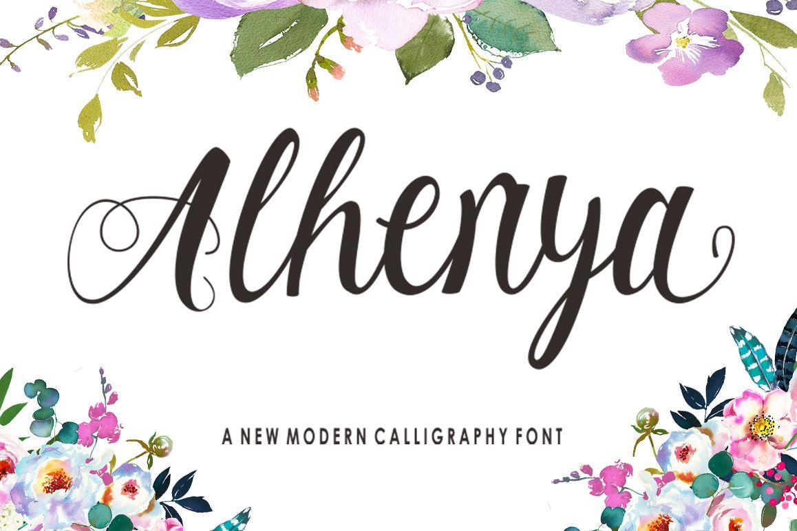 Alhenya Script example image 1