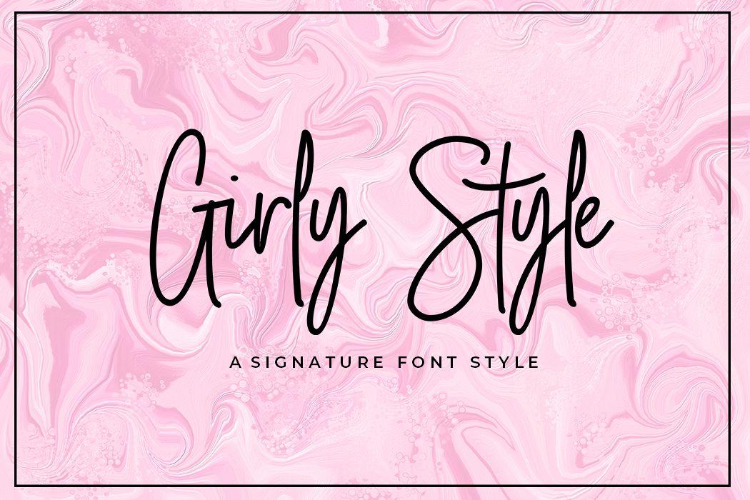 Girly Style example image 1