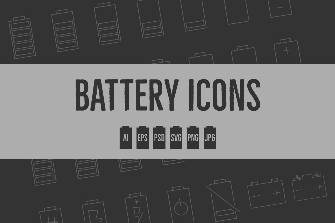Battery Level Icons example image 1