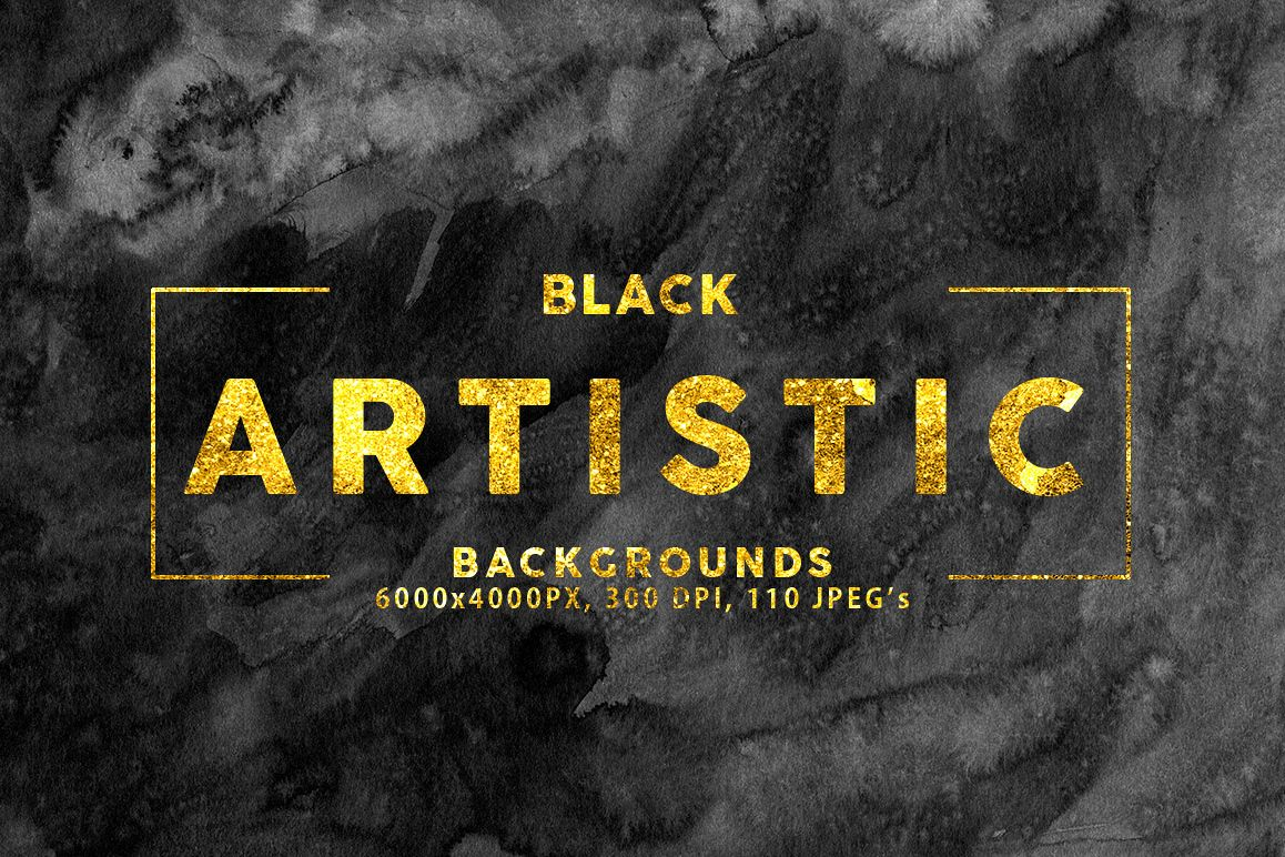 Black Artistic Backgrounds example image 1