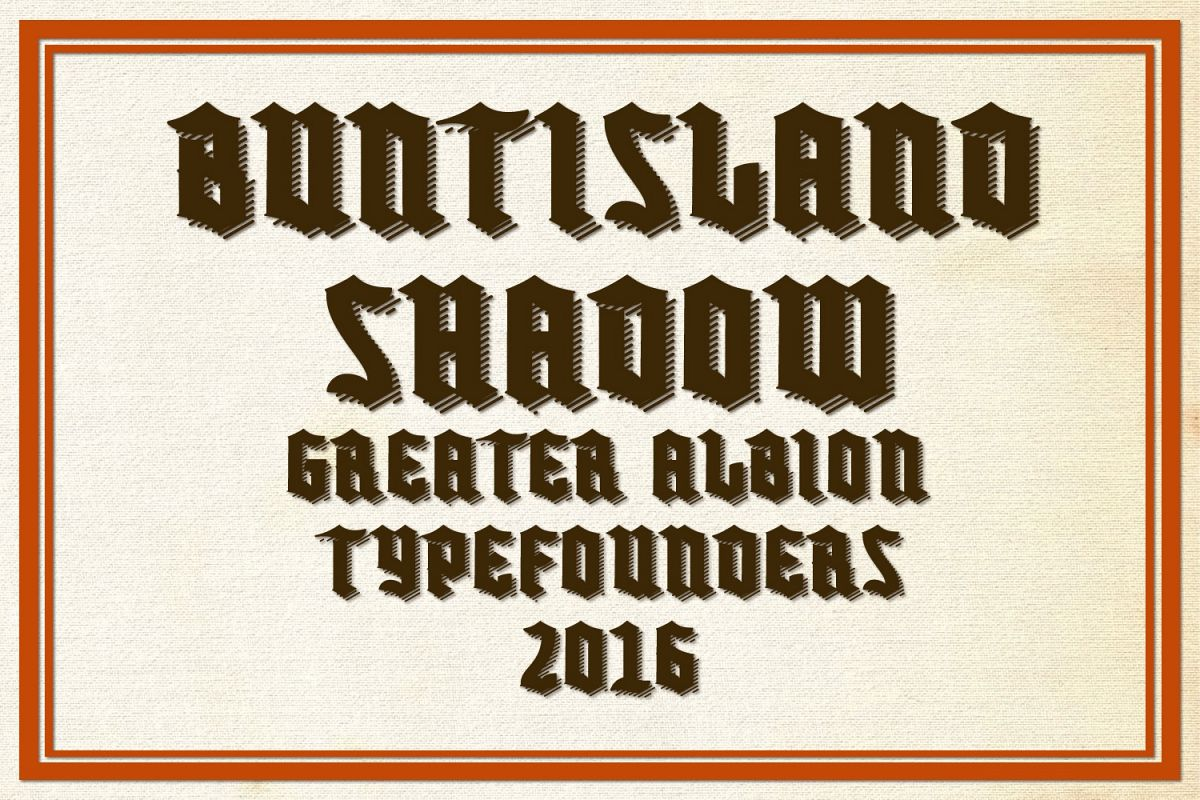 Buntisland Shadow example image 1