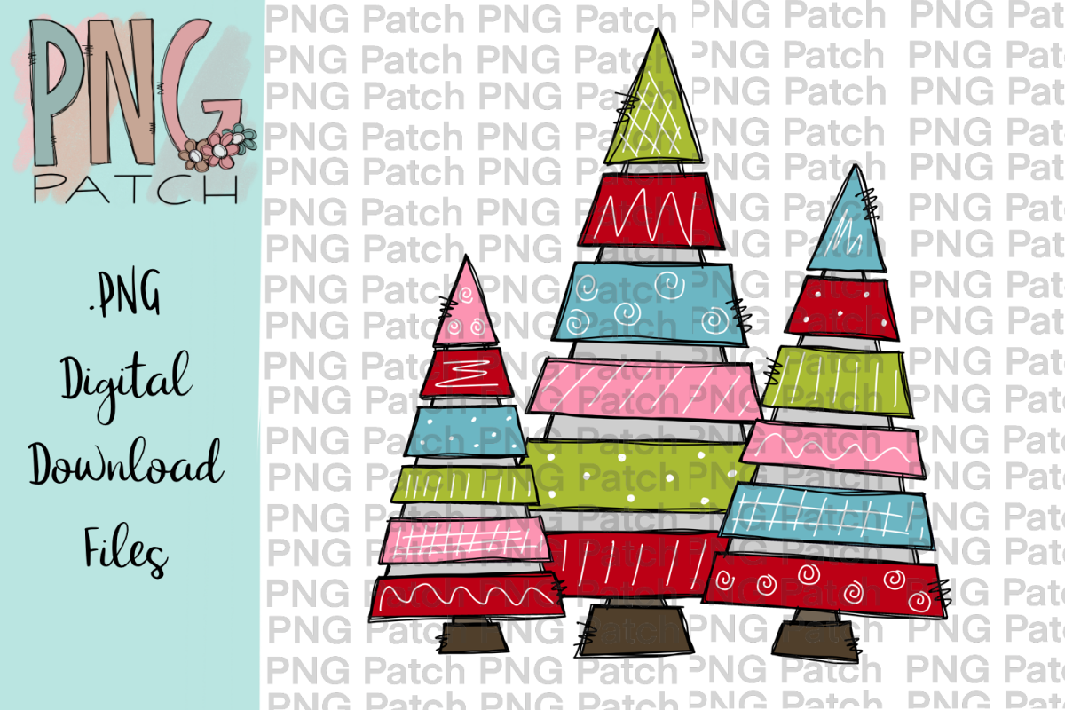 Christmas Png.Cute Tiered Christmas Tree Christmas Png File Sublimation