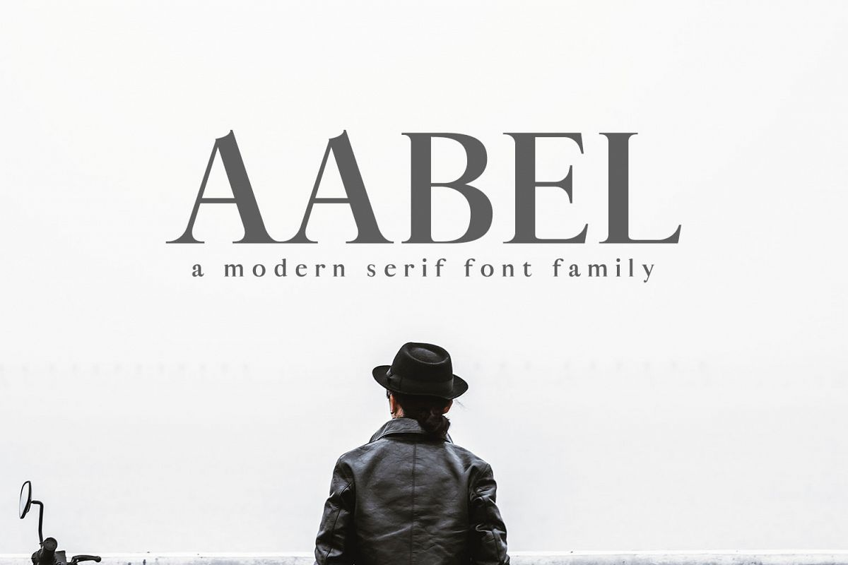 Aable A Modern Serif Font Family example image 1