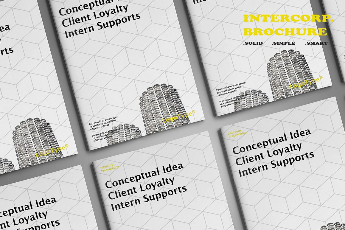 Intercorp Brochure Template example image 1