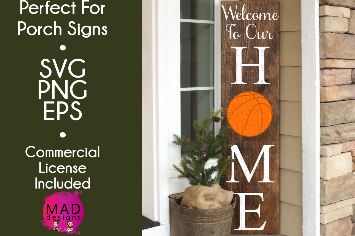 Welcome to Our Home - Basketball example image 1
