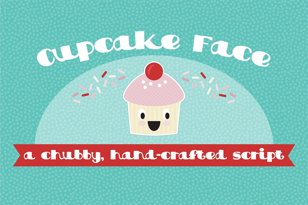 PN Cupcake Face example image 1