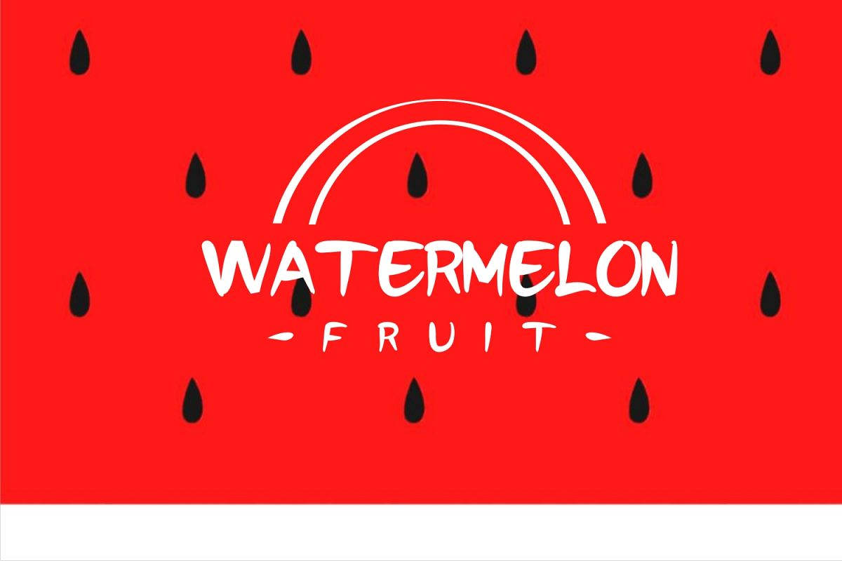 watermelonfont example image 1
