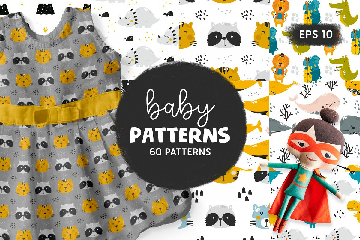 Baby patterns Bundle example image 1