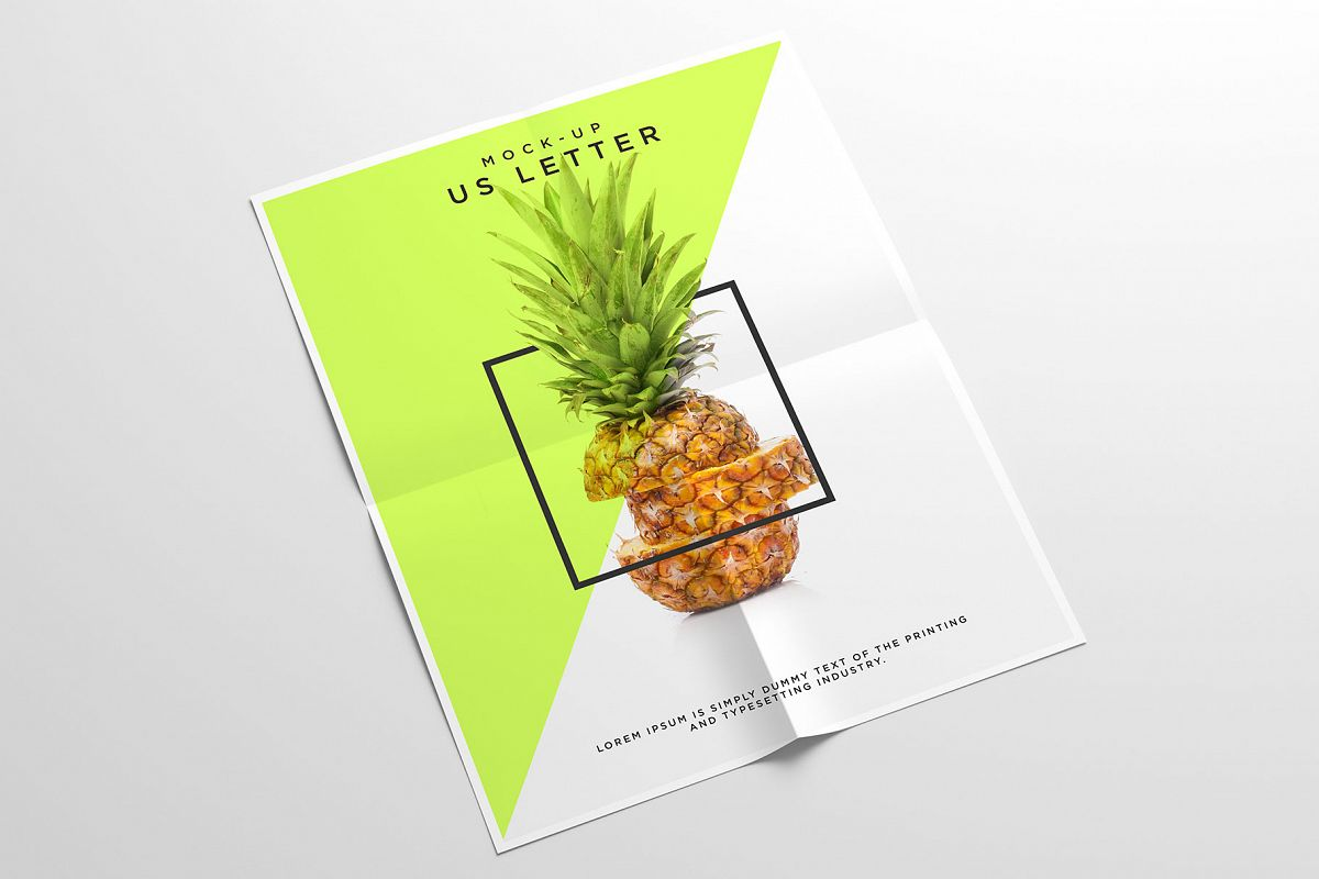 Us Letter Flyer Mockup example image 1