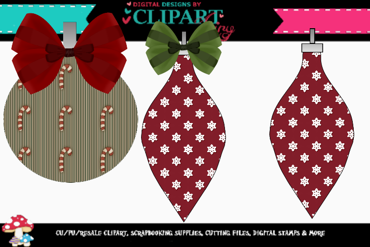 Vintage Ornaments example image 1