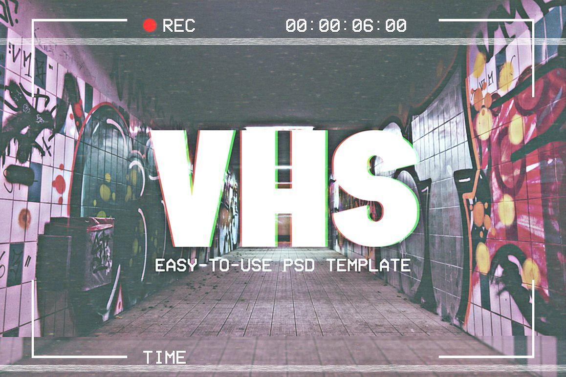 vhs template by creative supplies co design bundles
