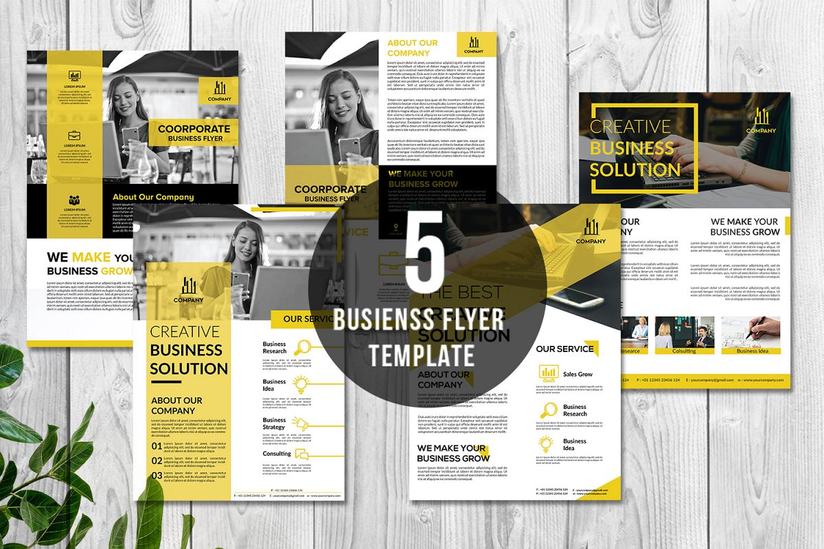 Creative Business Flyer A4 Print Ready Vol. 2 example image 1