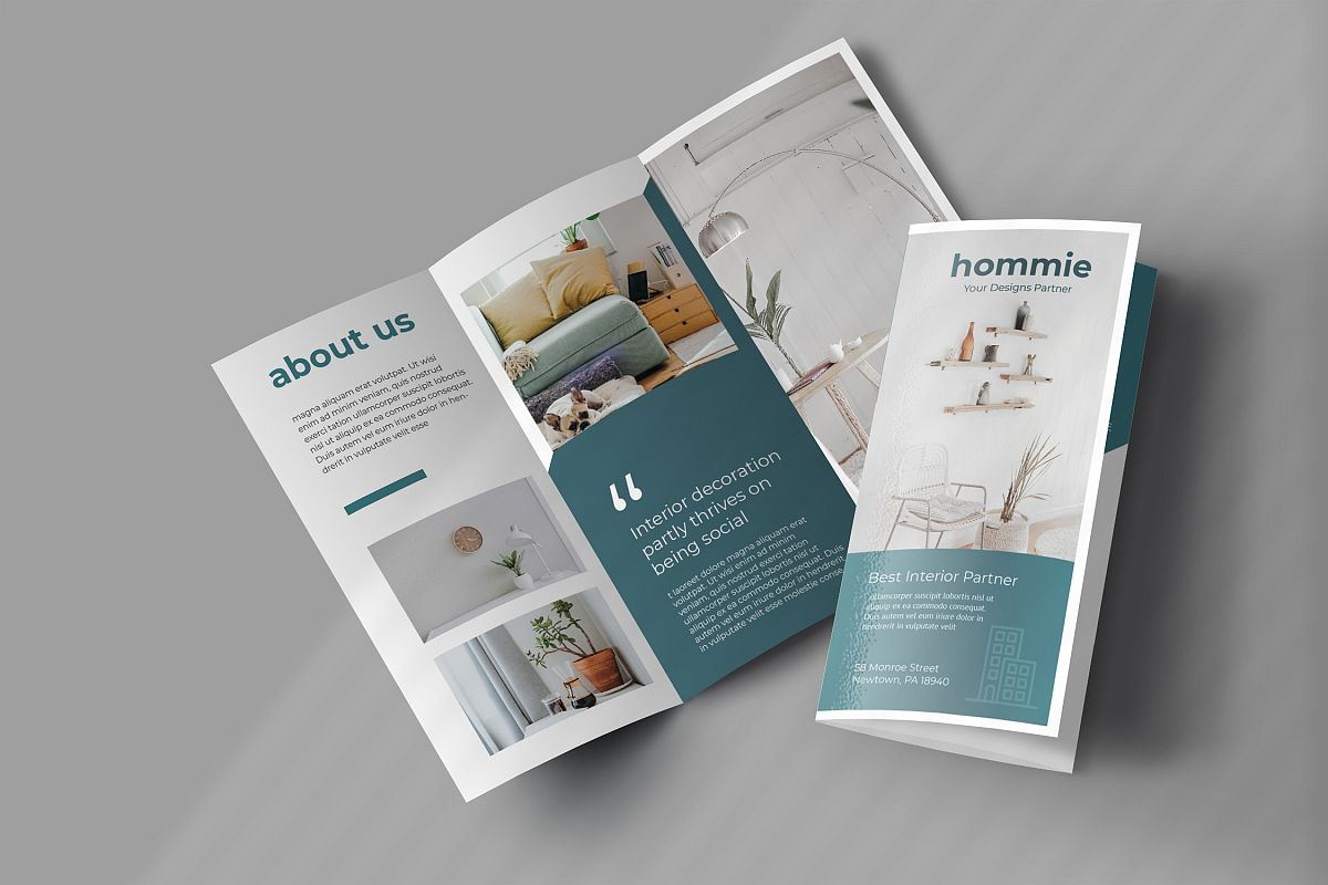 Interior Promotion Trifold Brochure example image 1