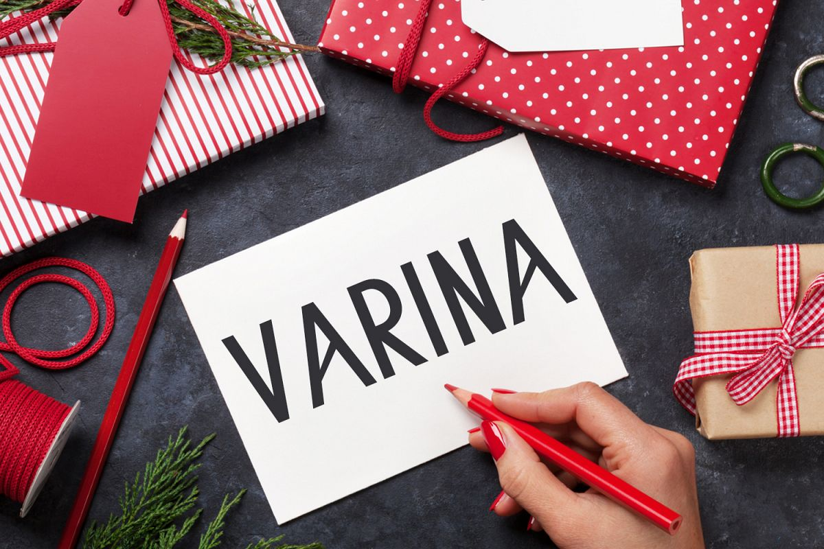 Varina Sans Serif Typeface example image 1