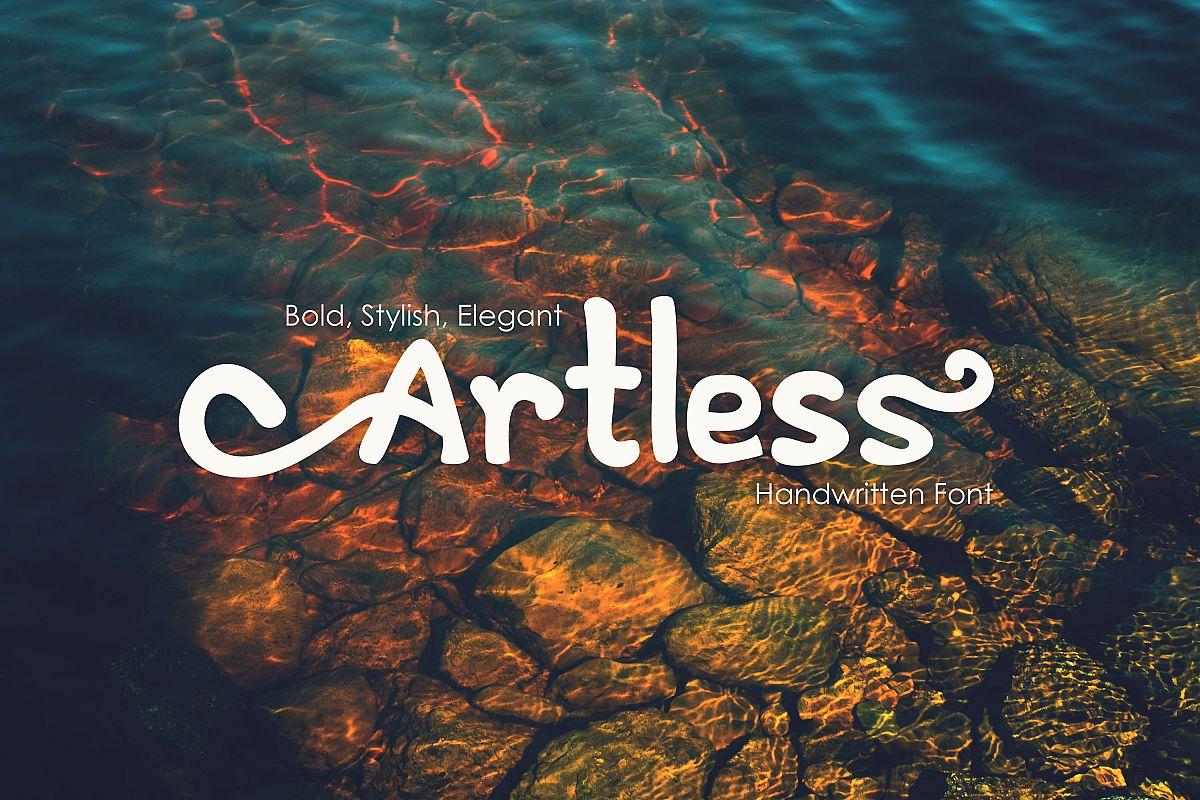 Artless - Handwritten Font example image 1