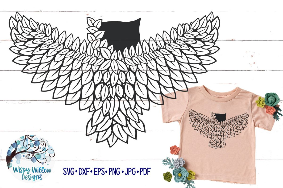 Intricate Owl SVG Cut File example image 1