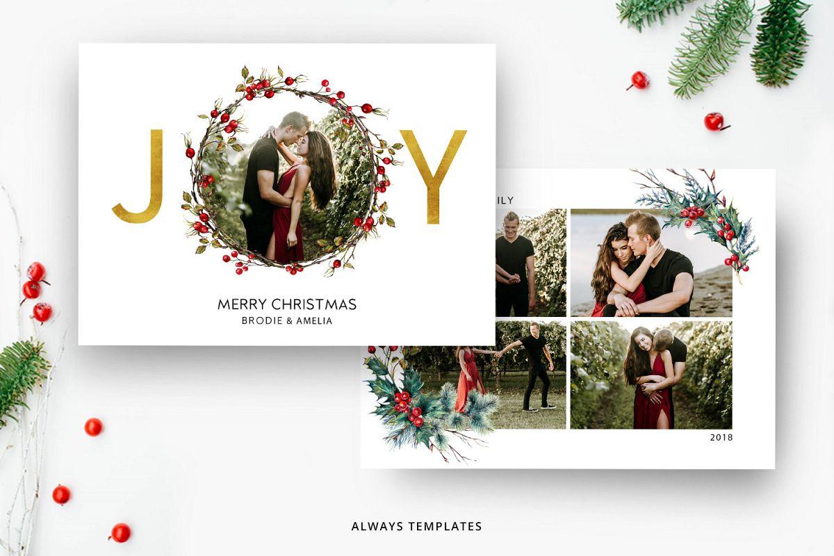 Christmas Card Template.Christmas Card Template Cc019