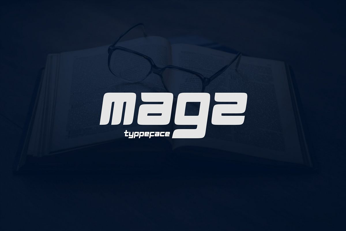 Magz Typeface Font example image 1