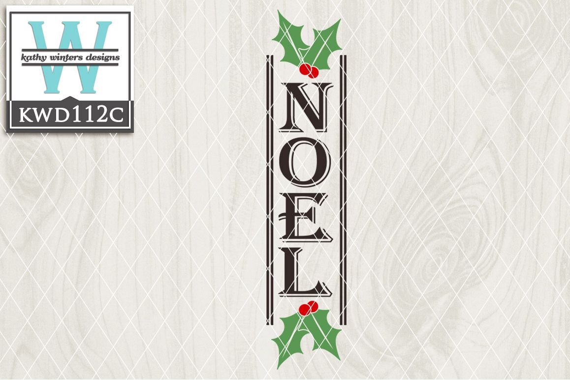 Christmas Cutting File KWD112C example image 1