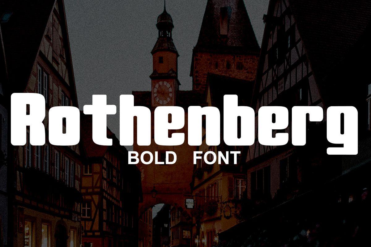 Rothenberg Bold example image 1