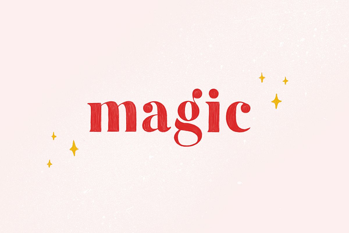 Magic - Colour SVG Font Extras example image 1