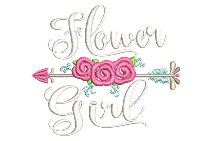 Flower Girl Arrow example image 1