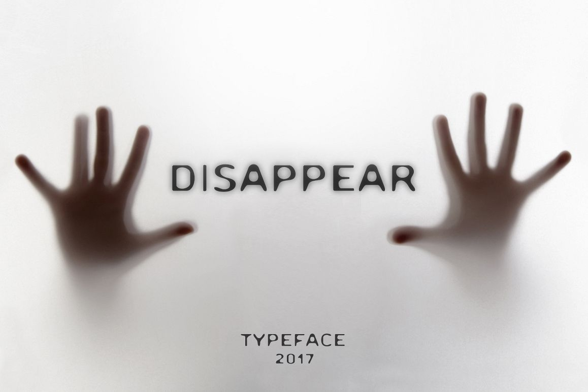 Disappear Font example image 1