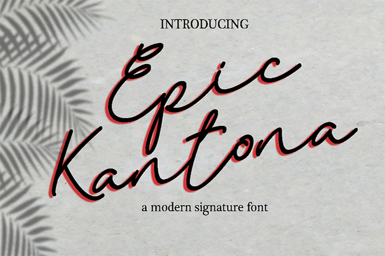 Epic Kantona example image 1