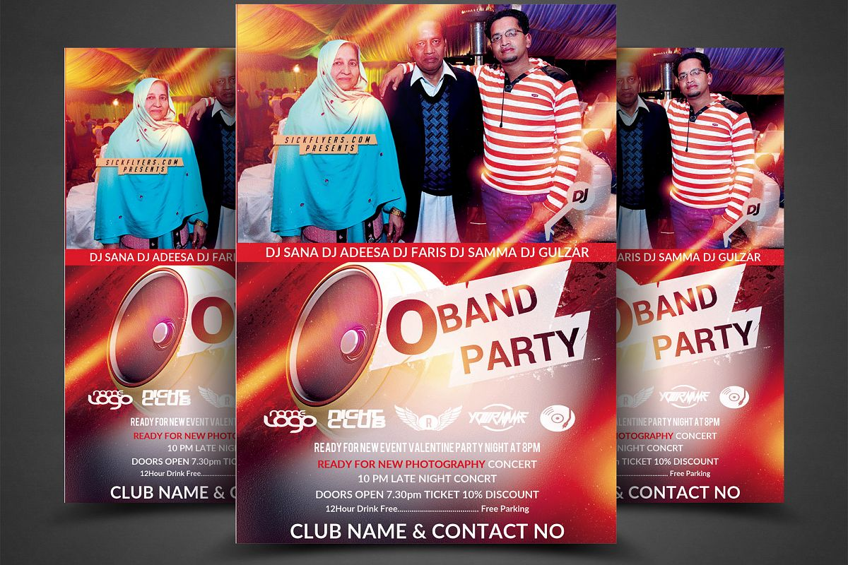 DJ Party Flyer example image 1