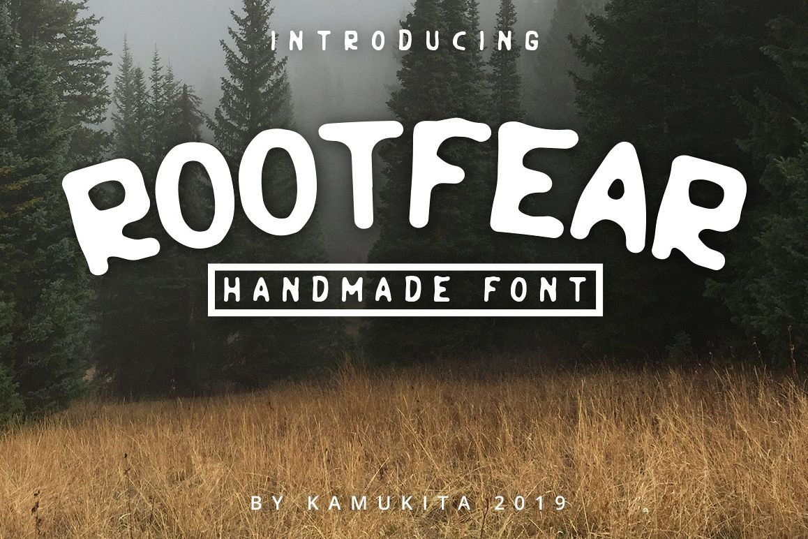 Rootfear Handmade Font example image 1