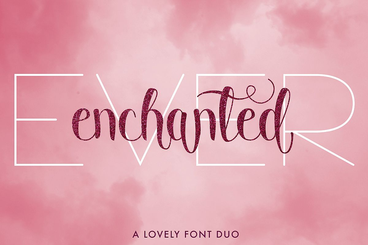 Ever Enchanted - A Font Duo example image 1